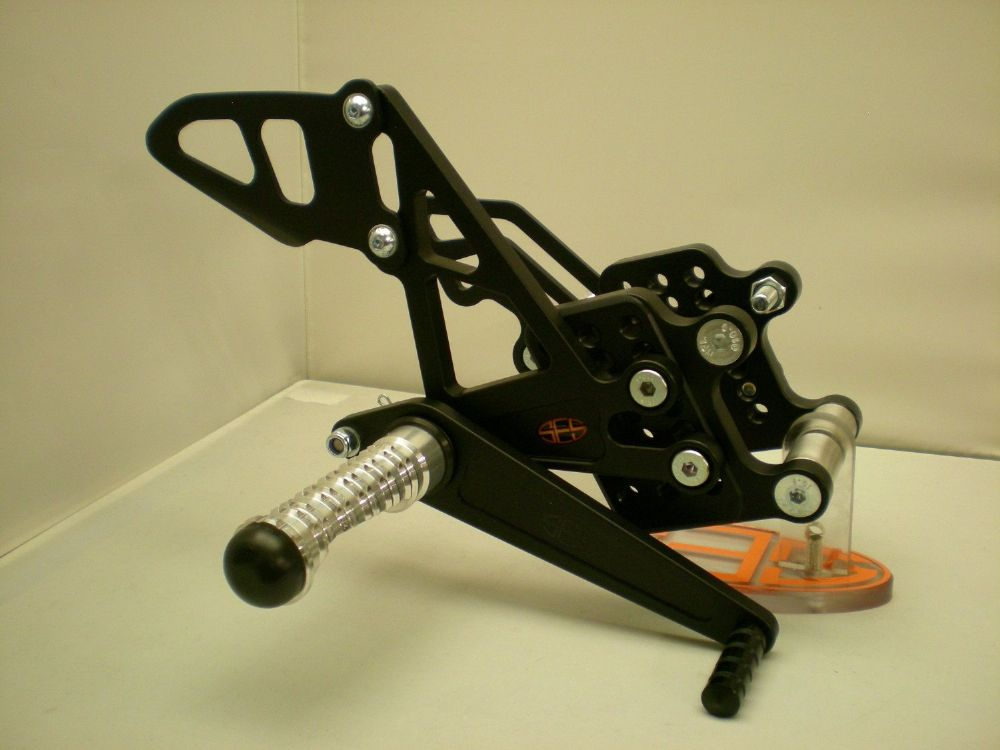 Adjustable Rearsets - Honda CBR1000RR (08-15) Road Shift. RSH016.